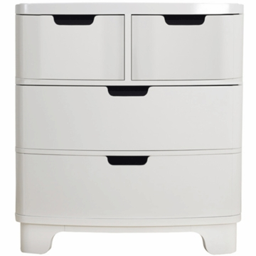 Bloom Luxo Dresser in Coconut White