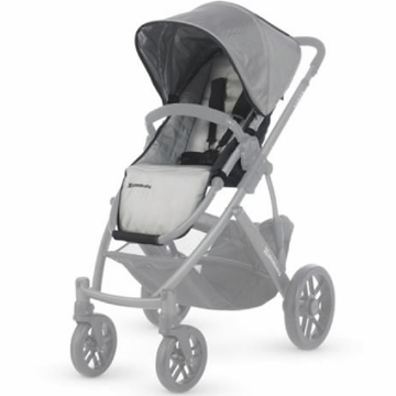 UppaBaby Vista Replacement Fashion Seat/Canopy Kit - Mica