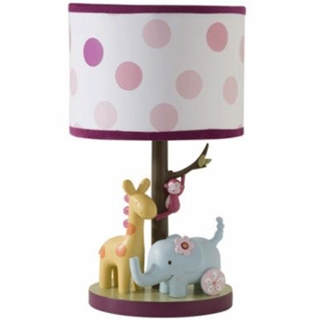 Lambs & Ivy Lollipop Jungle Lamp