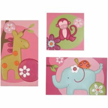 Lambs & Ivy Lollipop Jungle Wall D�cor