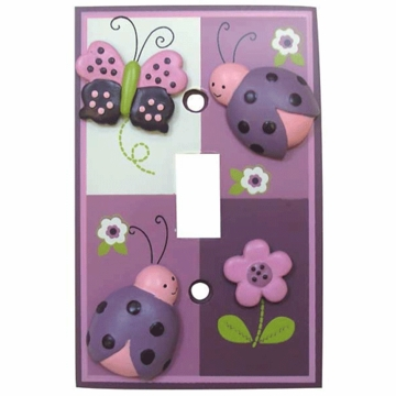 Lambs & Ivy Luv Bugs Switch Plate Cover
