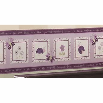 Lambs & Ivy Luv Bugs Wall Border