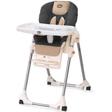 Chicco Polly Single-Pad Highchair Hazelwood