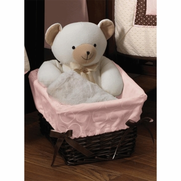 Lambs & Ivy Madison Ave Baby Basket Liner
