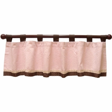 Lambs & Ivy Madison Ave Baby Window Valance