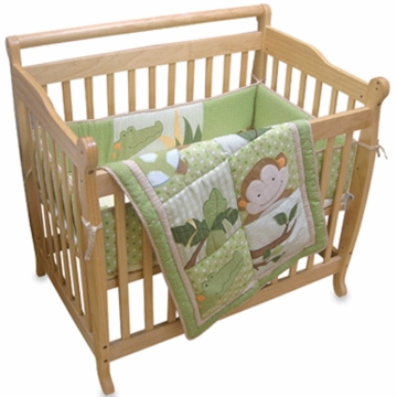 Lambs & Ivy Papagayo 3 Piece Mini Crib Set