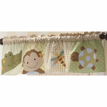 Lambs & Ivy Papagayo Window Valance