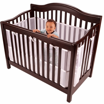 Breathable Baby Crib Shield