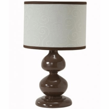 Lambs & Ivy Park Avenue Baby Lamp with Shade
