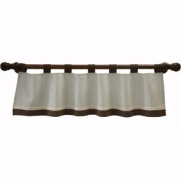 Lambs & Ivy Park Avenue Baby Window Valance