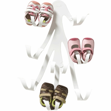 Boon Curl Baby Shoe Rack in Coconut