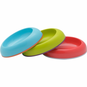 Boon Dish Edgeless Stayput Bowl Assorted 3 Pack
