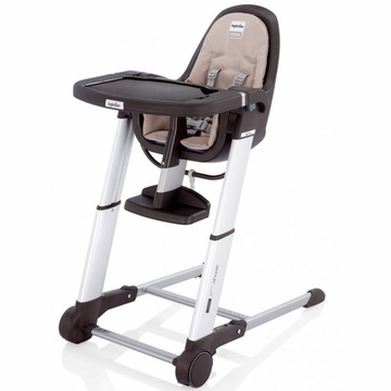 Inglesina 2013 Zuma Gray Highchair - Cream