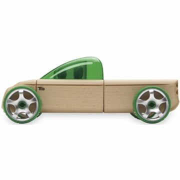 Manhattan Toy Automoblox T9 Truck Green
