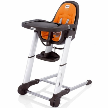 Inglesina 2011 Zuma Gray Highchair - Orange