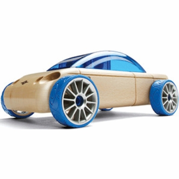 Manhattan Toy Automoblox S9 Sedan Blue