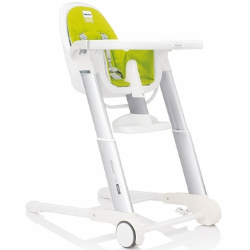 Inglesina Zuma White High Chair 2013 Lime