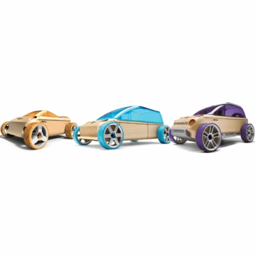 Manhattan Toy Automoblox Mini A9 /M9 /X9-X 3-Pack