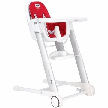 Inglesina Zuma White High Chair 2013 Red