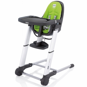 Inglesina 2011 Zuma Gray High Chair - Lime
