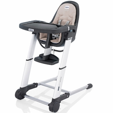 Inglesina 2011 Zuma Gray High Chair - Cream