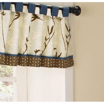 CoCaLo Natural Tranquil Window Valance