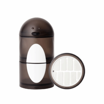 Boon PENGUIN STACK Snack Container - Black & White