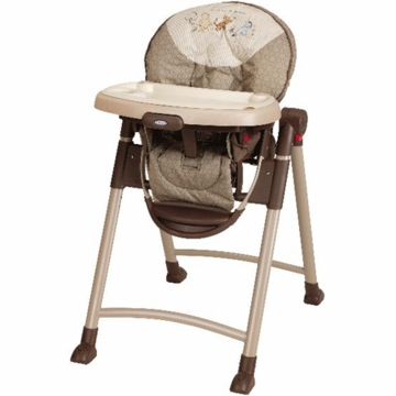 Graco Contempo High Chair - Classic Pooh