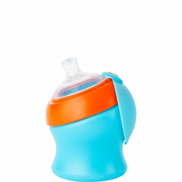 Boon SWIG Short Top Sippy Cup - Blue & Orange