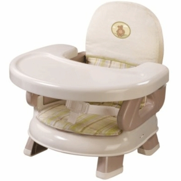 Summer Infant Deluxe Comfort Folding Booster in Beige