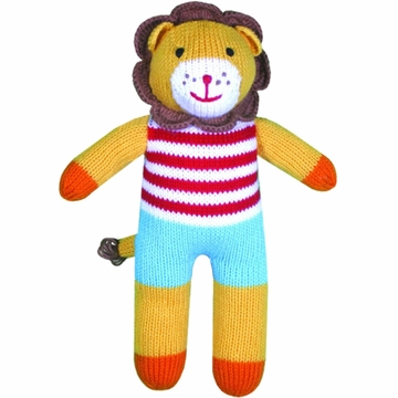 "Zubels Lion Leonard 12"" Hand-Knit Doll"