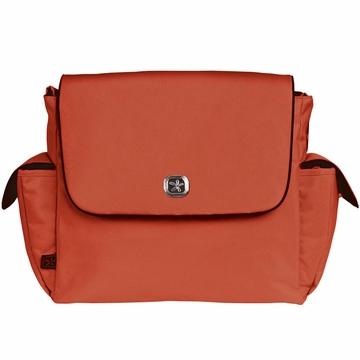 Fleurville Re-Run Messenger - Orange/Chocolate