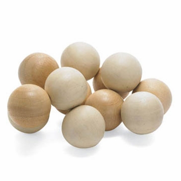 Manhattan Toy Baby Beads Wood Rattle - Natural