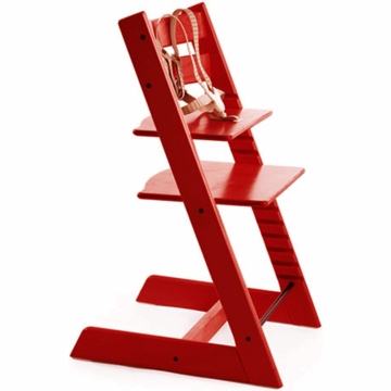 Stokke Classic Tripp Trapp High Chair in Red