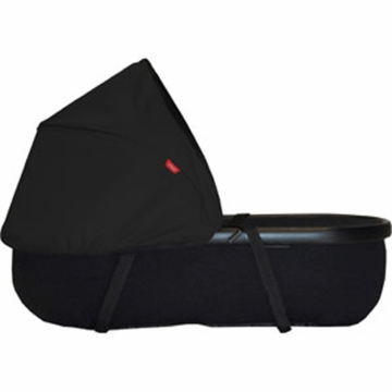 Phil & Teds Peanut Bassinet for Classic / Sport / Dash / Explorer / Hammerhead in Black/Black