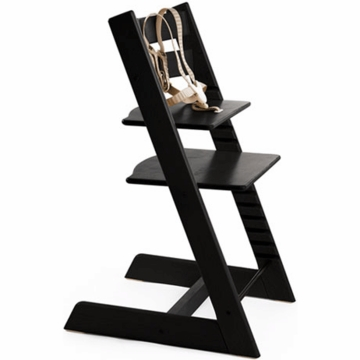 Stokke Classic Tripp Trapp High Chair in Black