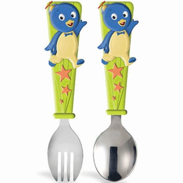 Munchkin Backyardigans Toddler Fork & Spoon