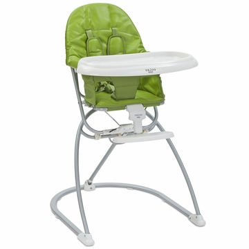 Valco Astro Compact Leatherette High Chair - Apple