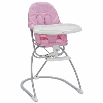 Valco Astro Compact Leatherette High Chair - Bubblegum