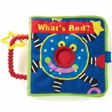 "Manhattan Baby Whoozit ""What is Red?"" Soft Book"