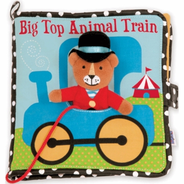 Manhattan Toy Big Top Animal Train Book