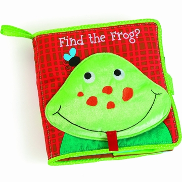 Manhattan Toy Find the Frog Soft Activity Book