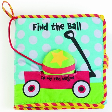Manhattan Toy Find the Ball Soft Activity Book