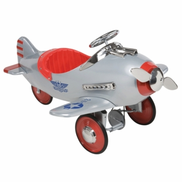 Airflow Collectibles Silver Pursuit Plane