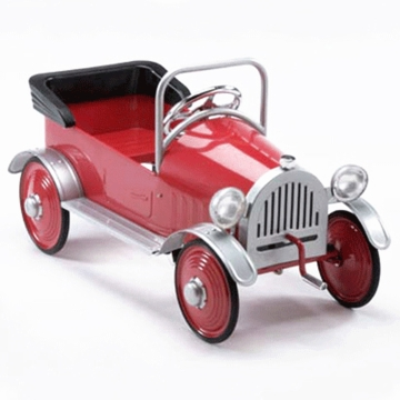 Airflow Collectibles Hot Rodder Car in Red