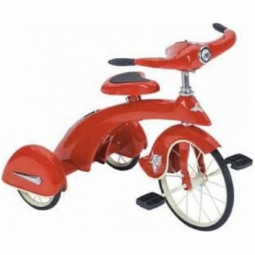 Airflow Collectibles Jr. Red Sky King Tricycle