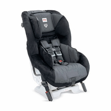 Britax Boulevard Convertible Car Seat in Onyx Black and Grey