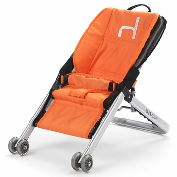 BabyHome Onfour Bouncer - Orange
