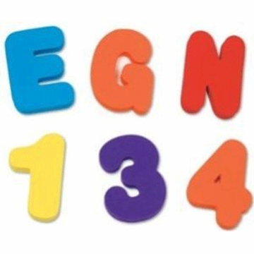 Munchkin Bath Letters & Numbers-Girl
