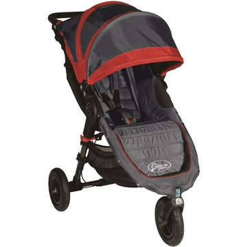 Baby Jogger City Mini GT Single Stroller Shadow / Crimson